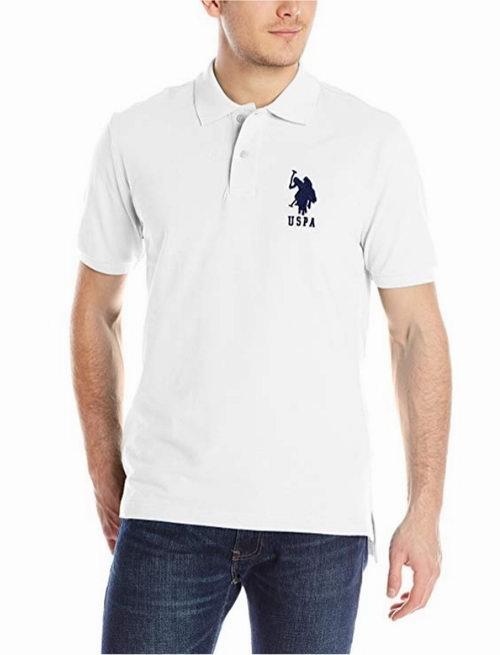 U.S. Polo Assn. Solid 男士纯色POLO衫 17.09加元起特卖,多色可选!