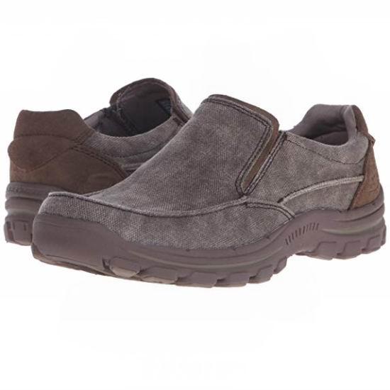 白菜价!Skechers 斯凯奇 BRAVER RAYLAND 男式一脚蹬休闲鞋(7.5码)1.8折 19.73加元!