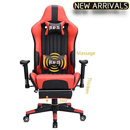Remaxe 人体工学 高靠背赛车办公椅/游戏椅 167.99-186.99加元限量特卖并包邮!2色可选!