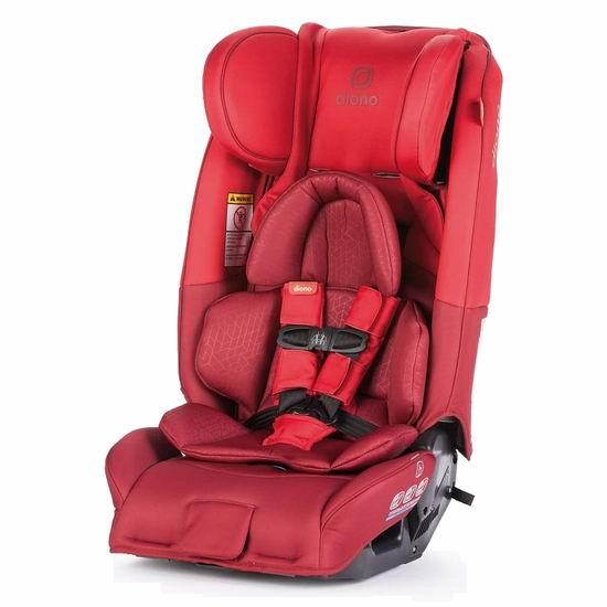历史最低价!Diono 谛欧诺 radian 3RXT 成长型儿童汽车安全座椅 340.97加元包邮!3色可选!