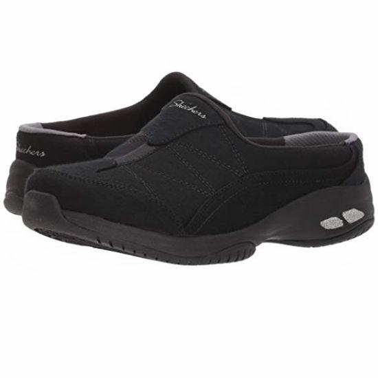 白菜价!Skechers 斯凯奇 Commute-Carpool-Heathered 女式穆勒鞋(5码)1.6折 14.44加元清仓!