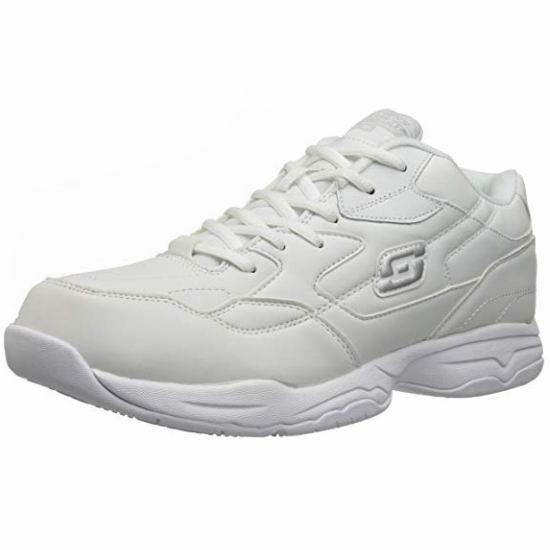 Skechers 斯凯奇 Felton 男式白色旅游鞋(8码)3.3折 24.34加元!