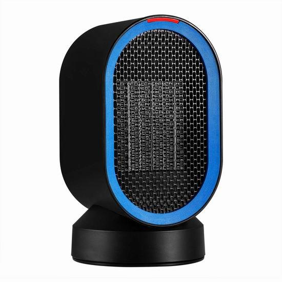 AIVANT 600W 便携式陶瓷电热取暖器6.8折 24.99加元限量特卖并包邮!