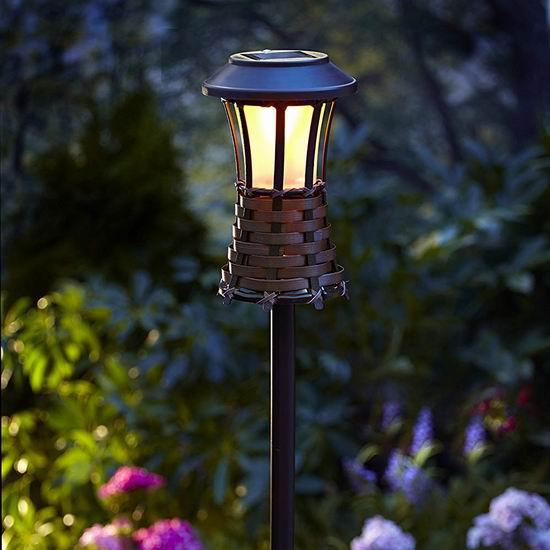 白菜价!Moonrays 91205 太阳能LED庭院照明灯2.3折 10.08加元清仓!