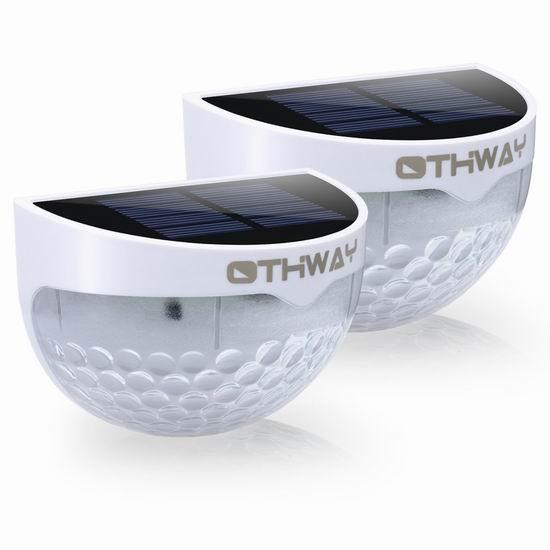 OTHWAY 太阳能照明灯2件套 11.99加元限量特卖!