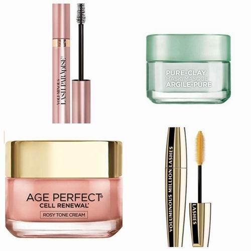 精选 L'Oreal Paris 巴黎欧莱雅 睫毛膏、眼线笔、口红、粉底、眼影、遮瑕膏等美妆产品6.4折起!