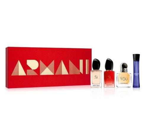Armani 阿玛尼 女士Q版香水4件套  37.5加元,原价 50加元