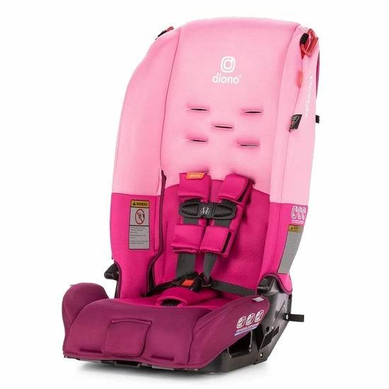 Diono 谛欧诺 Radian 3 R 成长型儿童汽车安全座椅 279.99加元包邮!3色可选!支持次日送达!