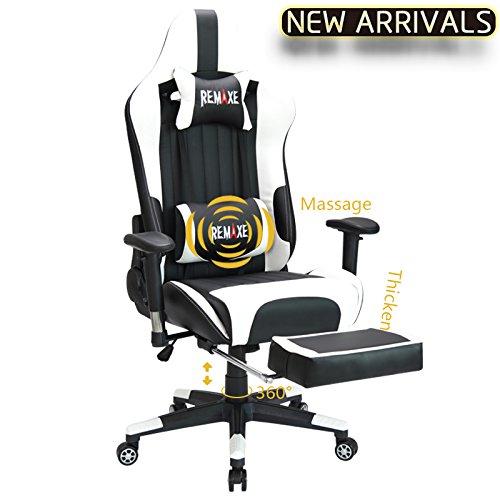 Remaxe 人体工学 高靠背赛车办公椅/游戏椅 186.99加元限量特卖并包邮!