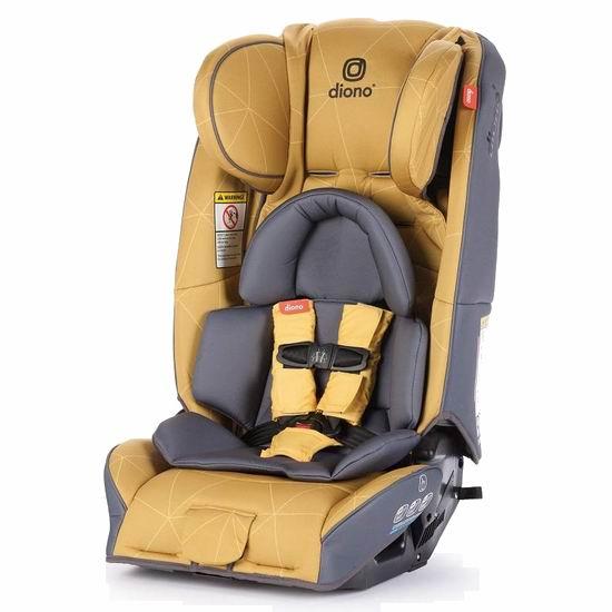 黑五好价!历史新低!Diono 谛欧诺 radian 3RXT 成长型儿童汽车安全座椅6.7折 289.98加元包邮!3色可选!