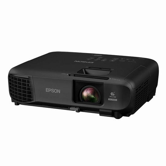 历史新低!Epson 爱普生 EX9220 1080P 3600流明超亮 3LCD 便携式 全高清专业投影机 797.99加元包邮!