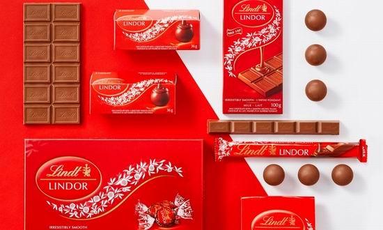 加拿大 Lindt 瑞士莲巧克力专卖店 礼品卡5折!