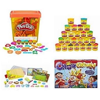精选 Play-Doh 培乐多 橡皮彩泥、Hasbro 益智棋牌游戏3.2折起!售价低至4.22加元!