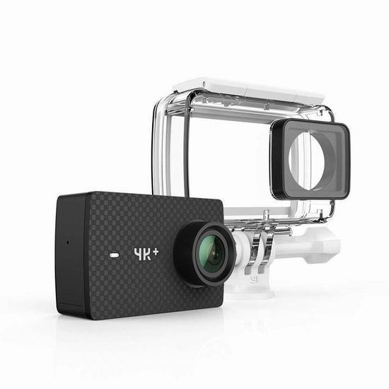 小米 YI 小蚁 4K+ 声控运动相机+防水外壳 229.99加元限量特卖并包邮!