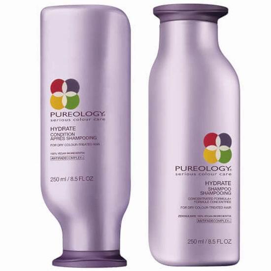 Pureology 洁学护理 Hydrate 保湿护色 无硅洗发水、护发素7.2折起!