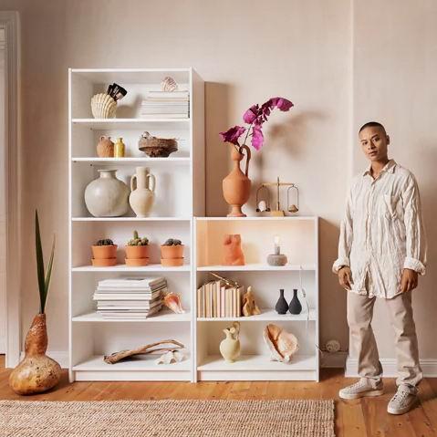 Ikea 宜家 Billy 毕利系列书柜、书架7.5折优惠!