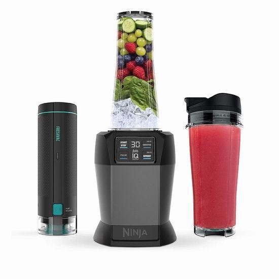 历史新低!Nutri Ninja BL580 智能家用多功能搅拌机4.5折 89.99加元包邮!