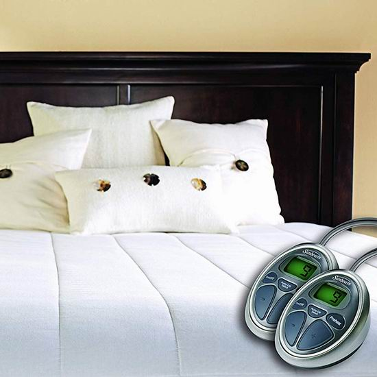 金盒头条:历史新低!Sunbeam MSU3SQS-P000-12B50 Queen 双遥控 电热床垫保护罩/电热毯 86.97加元包邮!