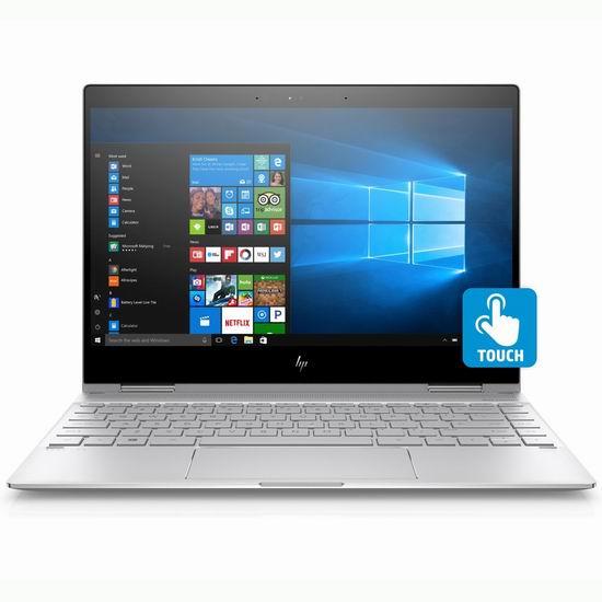 历史新低!HP 惠普 Spectre x360 13.3英寸 超轻薄 可翻转 触摸屏笔记本电脑 1199.99加元包邮!
