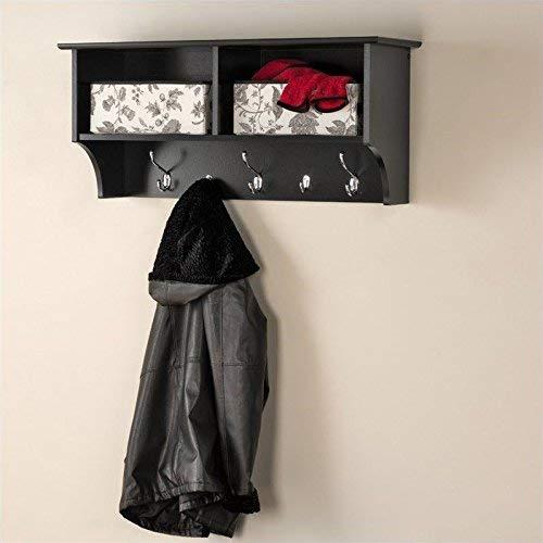 Prepac 36英寸 黑色悬挂式衣帽收纳柜6.1折 78.97加元包邮!
