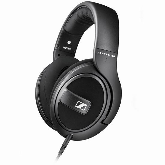 Sennheiser 森海塞尔 HD 569 封闭包耳 头戴式耳机 139.99加元包邮!