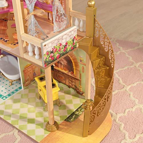 历史新低!KidKraft 65962 迪士尼公主 皇家庆典 超大型玩具娃娃屋 149.97加元包邮!