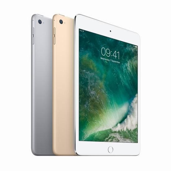 Apple iPad mini 4 WiFi 128GB 平板电脑 484.98-489加元,walmart同款价 529加元