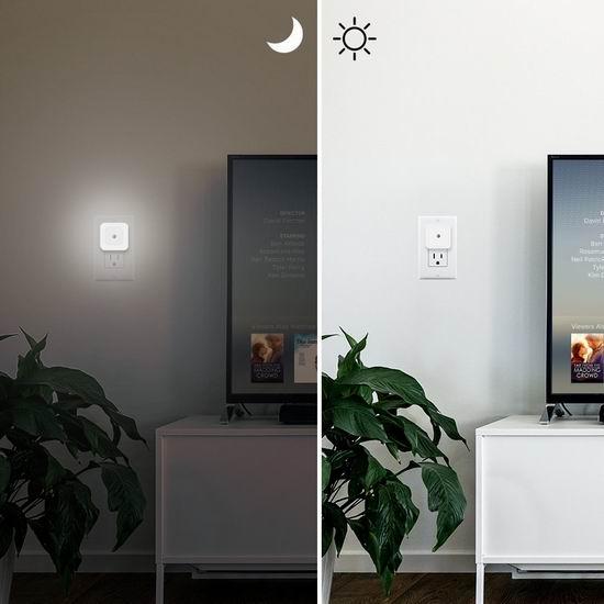 白菜价!历史新低!EleLight 智能光感应 LED节能小夜灯6件套 8.99加元清仓!