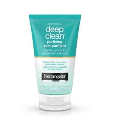 Neutrogena 露得清深层清洁轻柔磨砂膏 6.07加元,原价 9.97加元