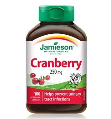 Jamieson健美生蔓越莓复合营养胶囊100粒 7.66加元,原价 11.27加元