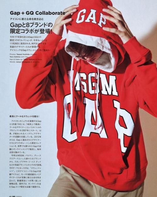 Gap精选男士休闲服、羽绒服 5折起+额外6折+额外9折优惠!入Gap 与 设计师大牌合作款卫衣!