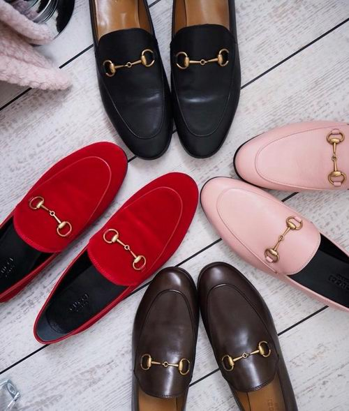 精选3款 Gucci 复古乐福鞋7.9折起 ,最高立减180加元!简洁大方,踩出巴黎女人的时尚优雅!