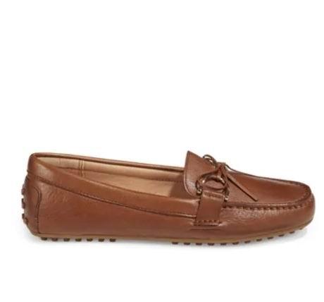 Lauren Ralph Lauren 女士乐福鞋 黑色款 79.99-84.99加元,原价 120加元