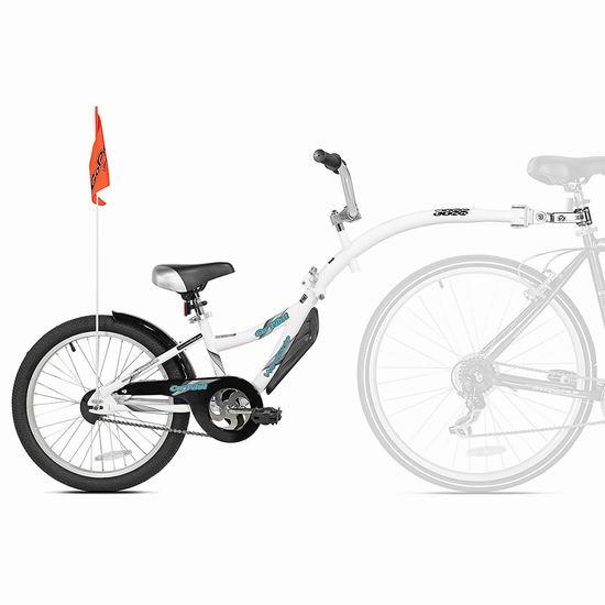 手慢无!历史新低!WeeRide Co-Pilot 自行车专用 儿童拖车5.5折 80加元包邮!踏春骑行必备!