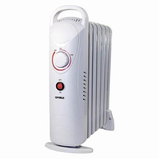历史新低!Optimus H-6003 便携式 电热油汀3.8折 36加元包邮!