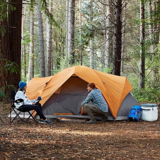 历史新低!AmazonBasics 8人超大家庭野营帐篷 110.55加元包邮!