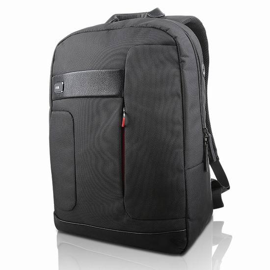 超级白菜!Lenovo 联想 ThinkLife NAVA系列经典商旅双肩背包1.8折 11.99加元邮!