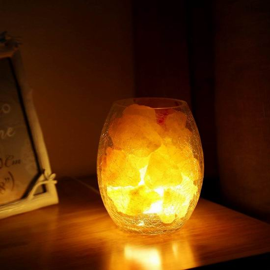 白菜价!历史新低!LightMe 喜马拉雅天然负离子水晶盐灯 15.99加元清仓!