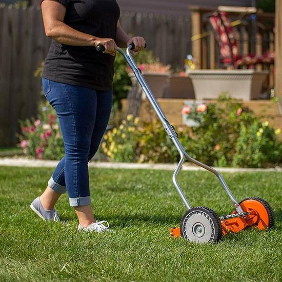 American Lawn Mower 1204-14 14英寸 手动推卷式割草机 91.78加元包邮!