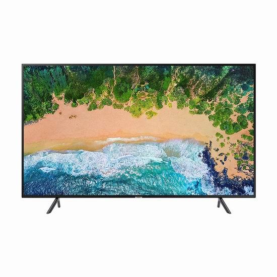 近史低价!Samsung 三星 UN50NU7100FXZC 50英寸 4K超高清 HDR智能电视 549.97加元包邮!