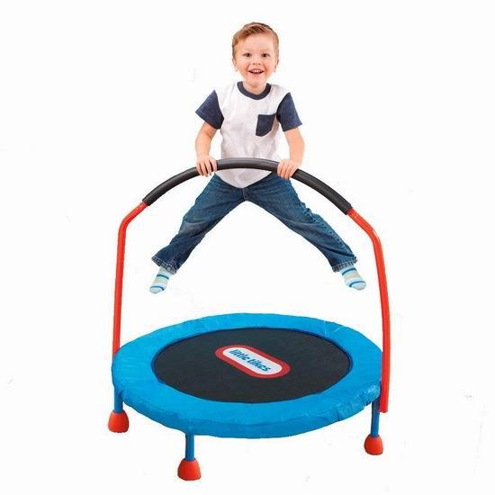 Little Tikes 小泰克 Easy Store 3英尺儿童欢乐小蹦床 68加元包邮!