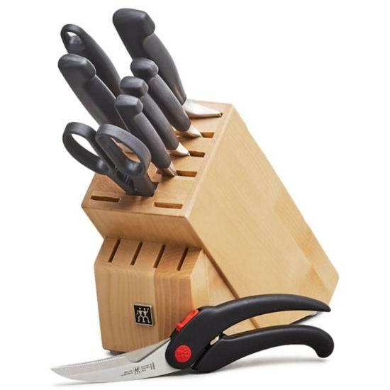 今日闪购:Zwilling 双立人 四星系列厨房刀具8件套2.7折 229.49加元包邮!额外送价值84.99加元厨房剪刀!