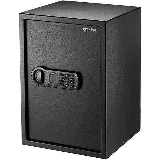 近史低价!AmazonBasics Home Safe 1.8立方英尺 电子密码保险箱6.6折 97.01加元包邮!