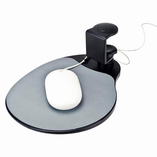 超级白菜!AIDATA Mouse Platform 人体工学鼠标支撑台1.7折 3.4加元清仓!