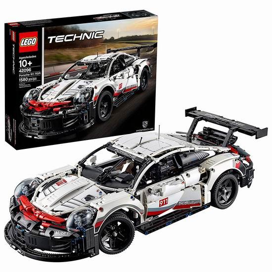 LEGO 乐高 42096 机械组 Porsche 保时捷 911 RSR赛车(1580pcs) 199.71加元包邮!