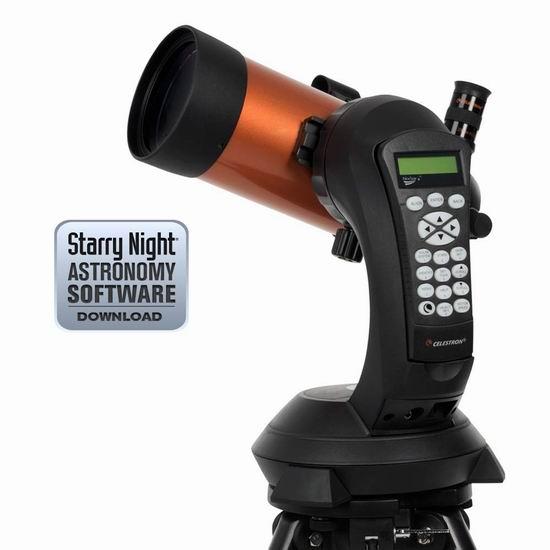 历史新低!Celestron 星特朗 11049 NexStar 4SE 自动寻星 天文望远镜 497.99加元包邮!
