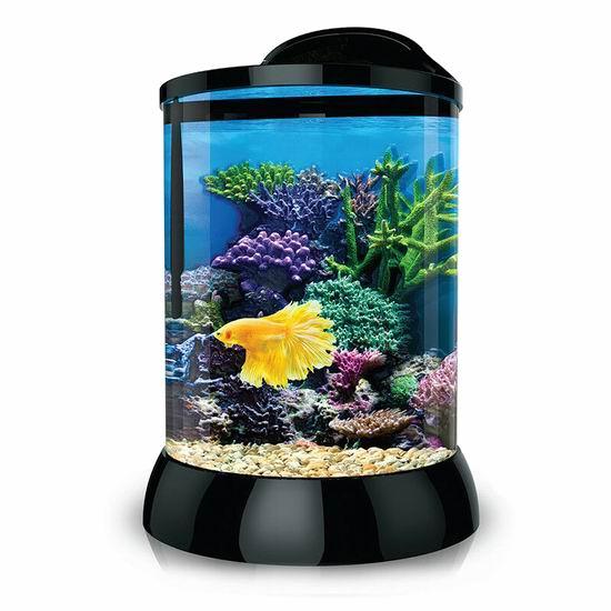 白菜价!历史新低!BioBubble Aqua Terra 1加仑 迷你鱼缸3.6折 9.43加元清仓!