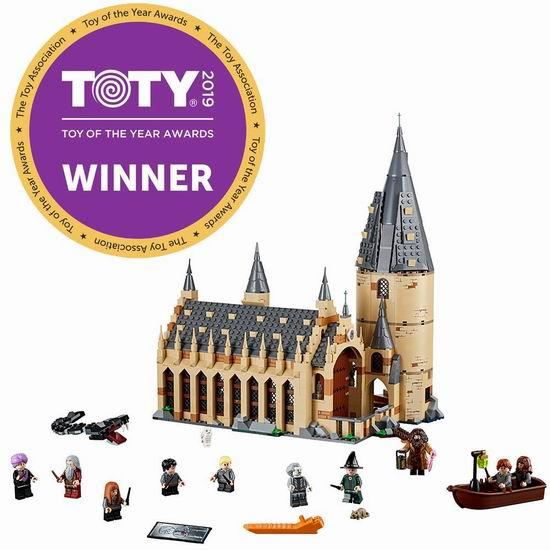 LEGO 乐高 75954 哈利波特 霍格沃茨大礼堂(878pcs) 103.99加元包邮!
