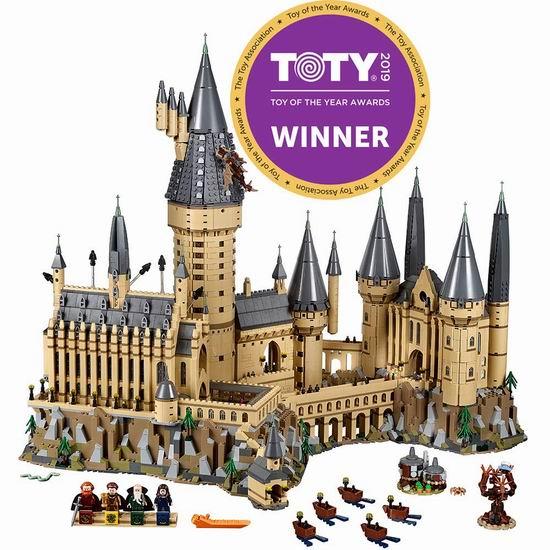补货!LEGO 乐高 71043 哈利波特 霍格沃兹城堡(6020pcs) 499加元包邮!