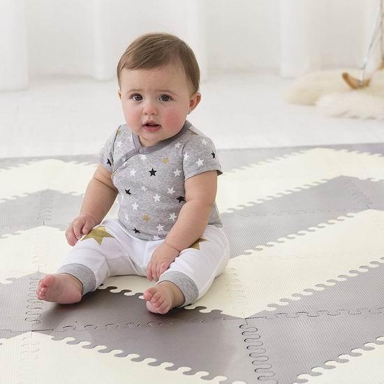 Skip Hop PlaySpot Geo 环保无毒 婴幼儿精美拼图软地垫 83.99加元包邮!2色可选!